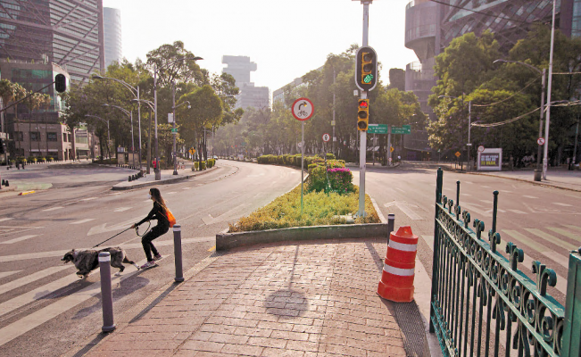 Mexico City will start to gradually reopen on June 1