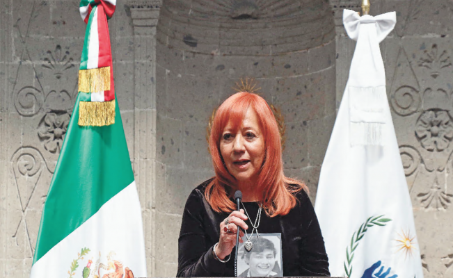 Rosario Piedra's salary dates back to the neoliberal period