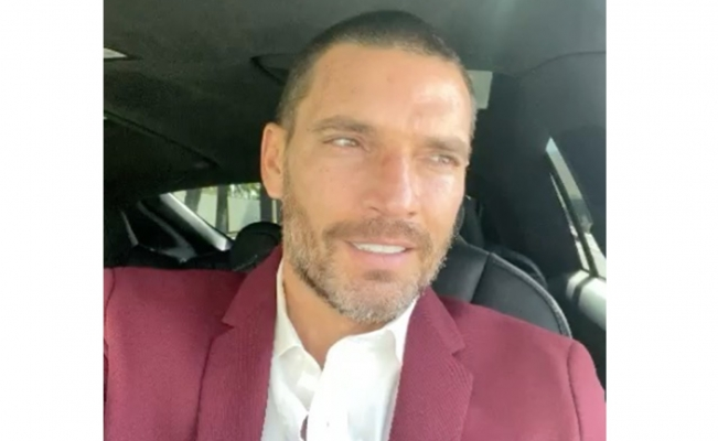 Julián Gil comparte audios de exchofer de Marjorie