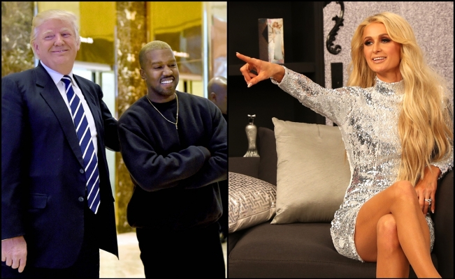 No solo Kanye West, Paris Hilton quiere ser presidenta de los Estados Unidos