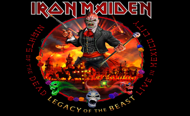 Iron Maiden to release new live album recorded in Mexico City