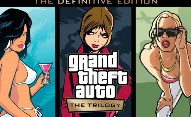 Grand Theft Auto: The Trilogy-The Definitive Edition