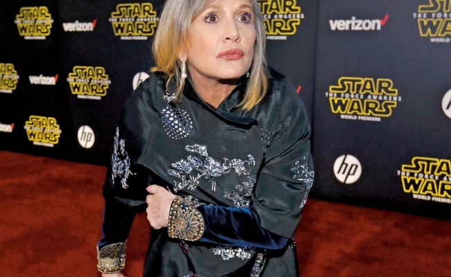 Carrie Fisher le regaló una lengua a Harvey Weinstein