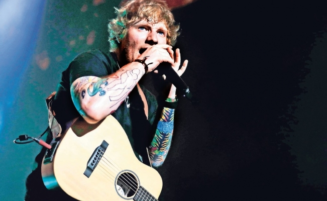 Ed Sheeran, un chico tímido en Wembley