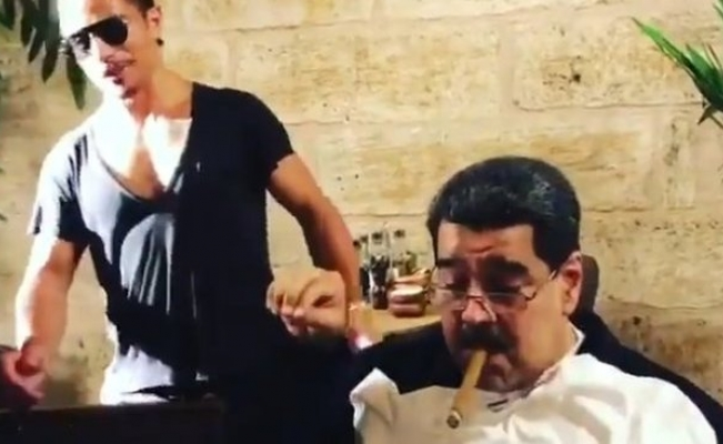 El video de Maduro con el chef Salt Bae y la cena en Estambul