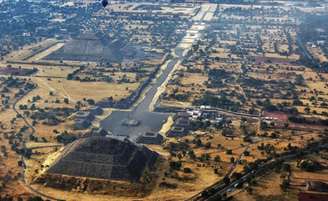 Evidence suggests the Pyramid of the Moon outlined Teotihuacan's urban design
