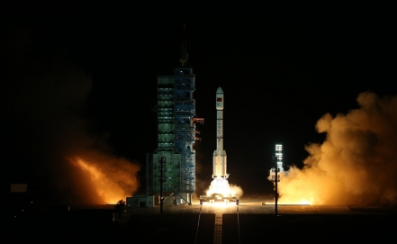 Lanza China la base de su primera estación espacial
