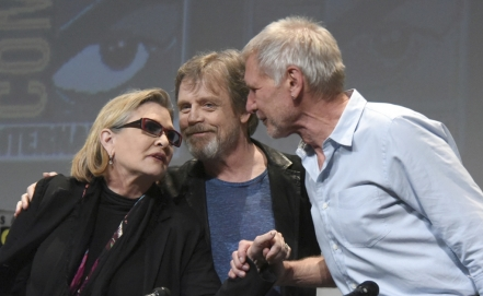 Mark Hamill: Hacer reír a Carrie Fisher era siempre un honor