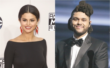 Captan a Selena Gomez besando a The Weeknd