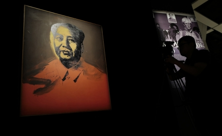 "Venden un ""Mao"" de Andy Warhol por 11 mdd en China"
