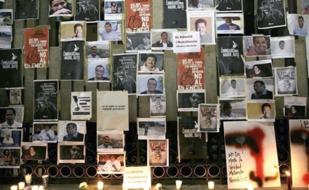 National and International Media issue manifesto against attacks on Mexican journalists
