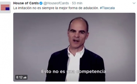 """House of cards"" responde a exedil tlaxcalteca"