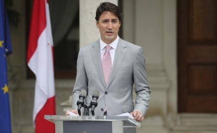 Trudeau is considering visiting Mexico in October