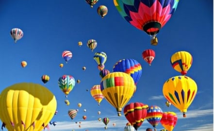 Hot-air Balloon Festival in San Luis Potosí