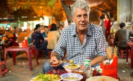 Desperdicio de alimentos es el tema del nuevo documental de Anthony Bourdain