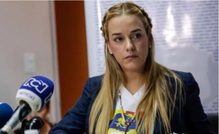 USD$ 61,000 in cash seized from Lilian Tintori