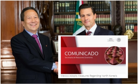 Enrique Peña Nieto instructed full compliance of UN security resolutions