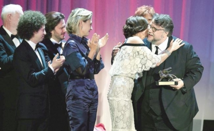 Del Toro wins Golden Lion at the Venice Film Festival