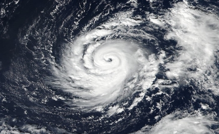 Ophelia strengthened to a powerful hurricane off Azores