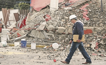 Waste management following Mexico's earthquake disaster