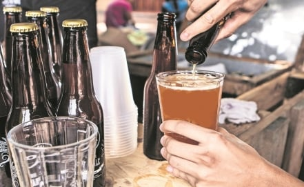 Tearing down walls with craft beer