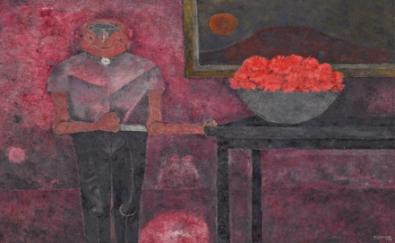 More than a dozen of Mexican modern paintings in auction