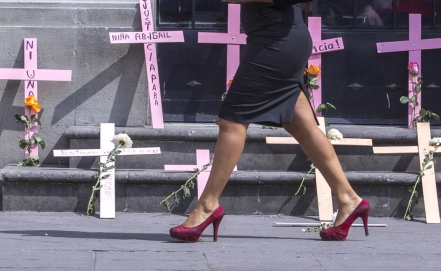International Day for the Elimination of Violence against Women in Mexico