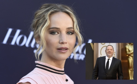 """Era un perro"", dice ​Jennifer Lawrence sobre Harvey Weinstein"