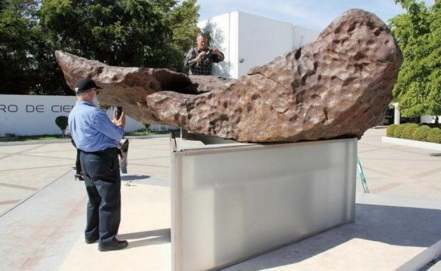 Largest meteorite in Mexico moved indoors