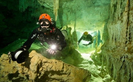 Largest underwater cave system found in Quintana Roo