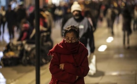 Harsh winters in Mexico caused by global warming