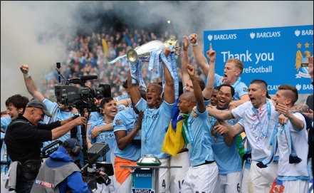 Manchester City es campeón de la Premier League