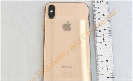 Apple planeaba lanzar un iPhone X dorado
