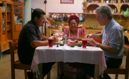 Anthony Bourdain's Travels in Mexico