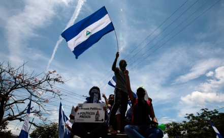 Thousands of protests in Nicaragua for the release of political prisoners [19659020] Thousands of protests in Nicaragua for the release of political prisoners
