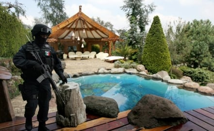 Mexico auctions mansions previously owned by drug lords and criminals