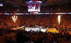 Oracle Arena in Oakland, California