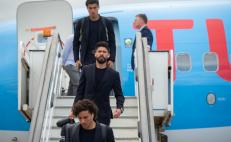 Mexico's National Football Team arrives in Russia
