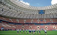 Moscow celebrates grand opening for the World Cup