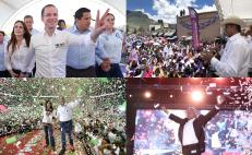 Presidential candidates close campaigns