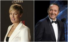 """Robin Wright y Kevin Spacey protagonizaron la serie """"House of Cards"""""""