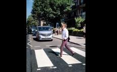 Paul McCartney cruza Abbey Road y da concierto privado