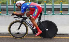Mexican cyclist wins gold medal and sets new record