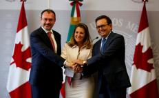 Canadian foreign minister meets with AMLO and Mexico officials
