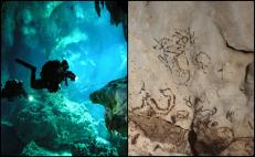 Mayan cave paintings discovered in Yucatán