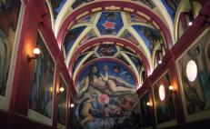 Restoration of Diego Rivera's murals in Chapingo University is almost complete