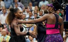 Serena Williams supera a su hermana Venus en el US Open