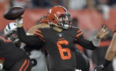 Baker Mayfield será titular con Browns