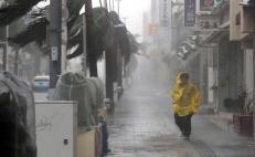 Typhoon Trami drenches Japan
