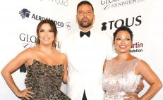 Eva Longoria and Ricky Martin host charity gala in Mexico City